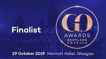 Finalist at the 2019/20 GO Awards
