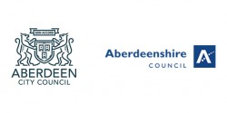 Aberdeen City Council and Aberdeenshire Council logos
